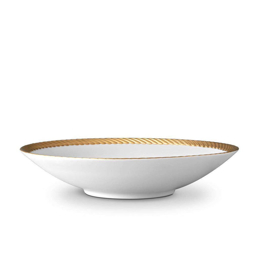 Corde Coupe Bowl - Large - Gold - TERTIUS COLLECTION