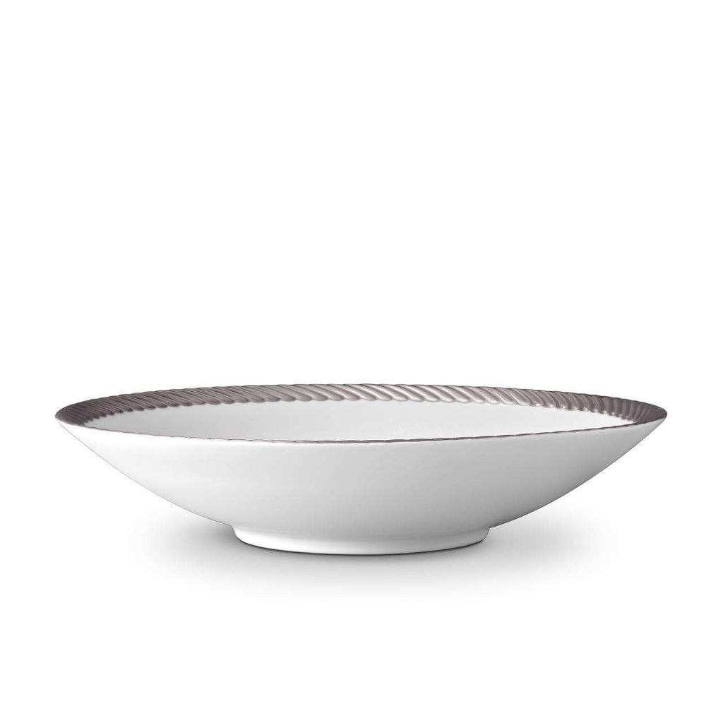 Corde Coupe Bowl - Large - Platinum - TERTIUS COLLECTION