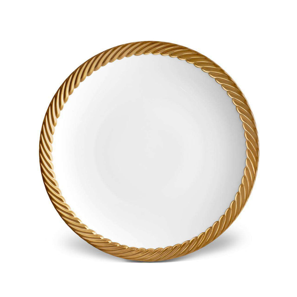 Corde Dinner Plate - Gold - TERTIUS COLLECTION