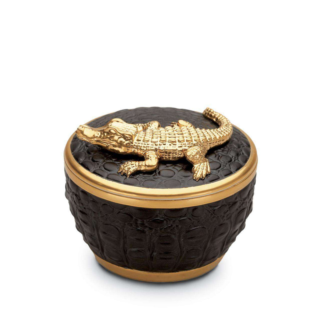 Crocodile Candle - Gold - TERTIUS COLLECTION