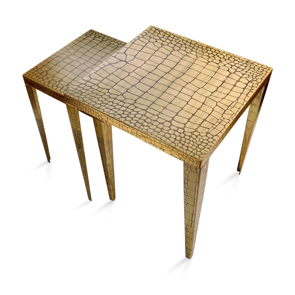 Crocodile Nested Tables - TERTIUS COLLECTION