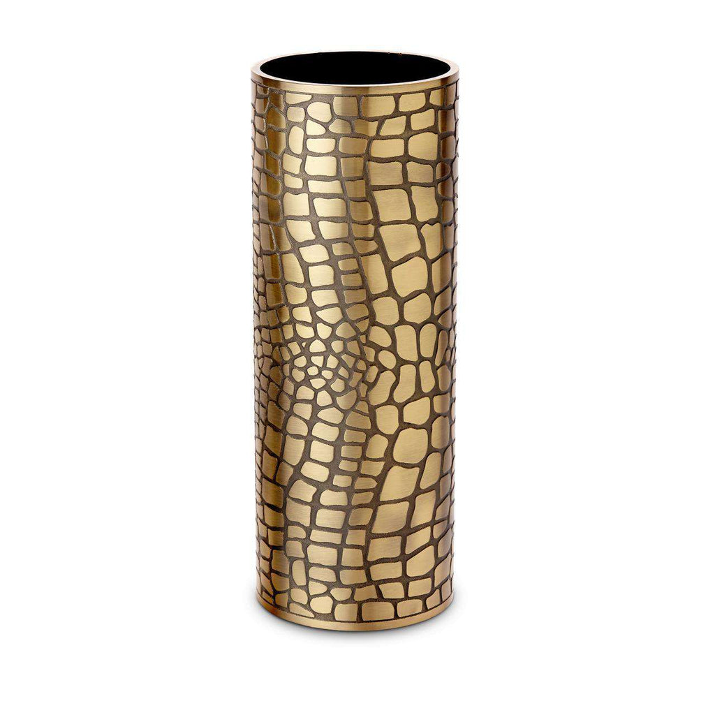 Crocodile Vase - Large - Gold - TERTIUS COLLECTION