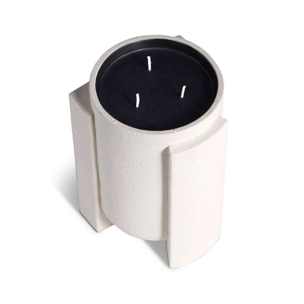 Cubisme Candle 3-wick - Black & White - TERTIUS COLLECTION