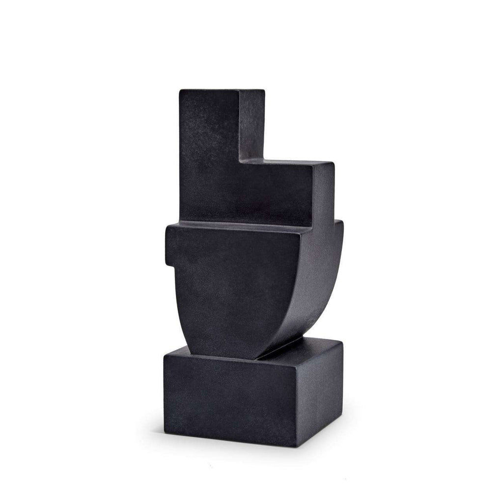 Cubisme Two Bookend - Black - TERTIUS COLLECTION
