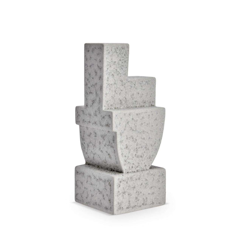 Cubisme Two Bookend - Grey - TERTIUS COLLECTION