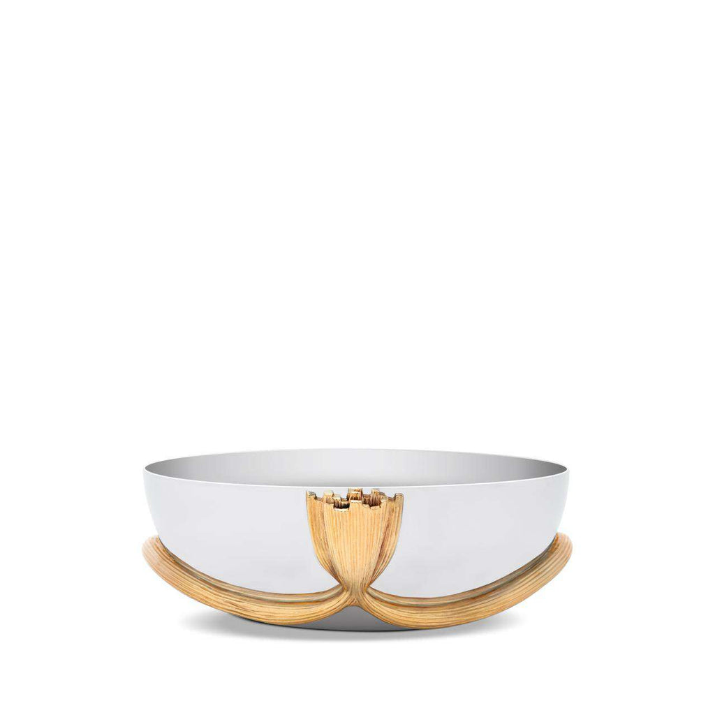 Deco Leaves Bowl - Medium - TERTIUS COLLECTION