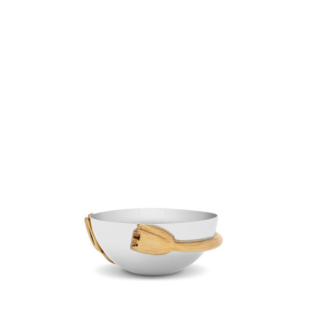 Deco Leaves Bowl - Small - TERTIUS COLLECTION
