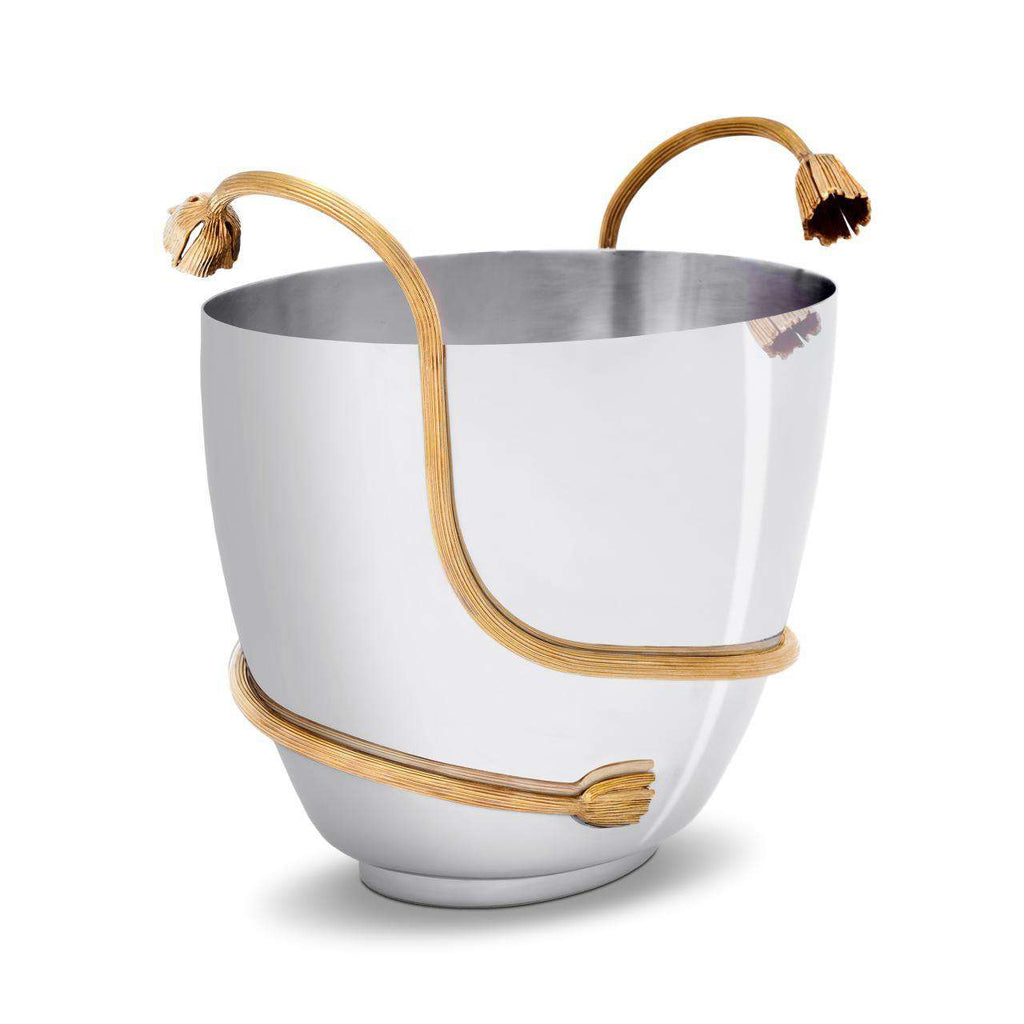 Deco Leaves Champagne Bucket - TERTIUS COLLECTION