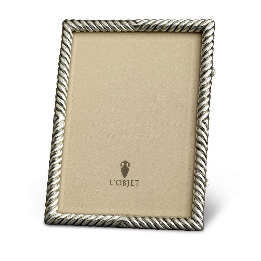"Deco Twist Frame 8x10"" - Platinum - TERTIUS COLLECTION"