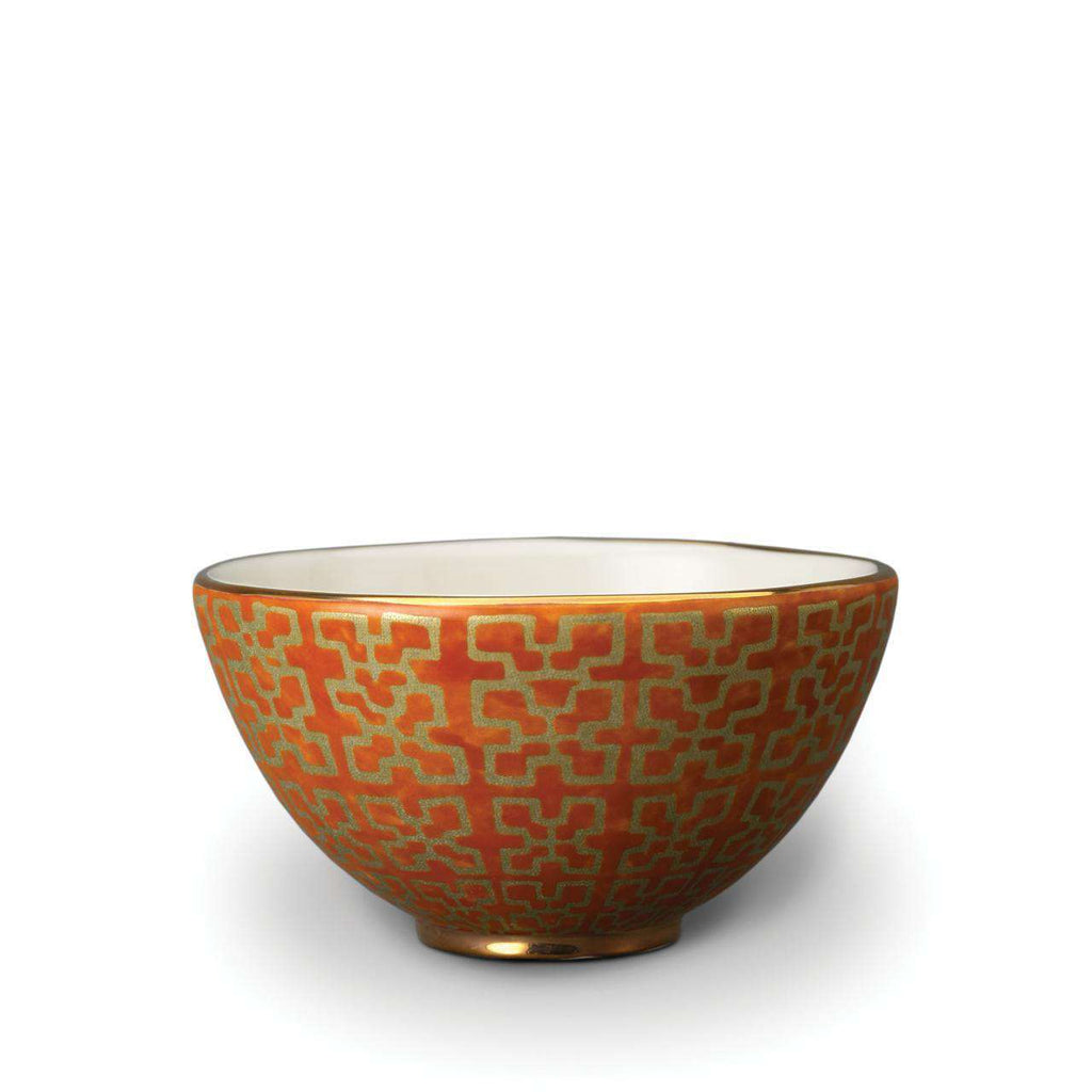 Fortuny Ashanti Cereal Bowls - Orange - TERTIUS COLLECTION