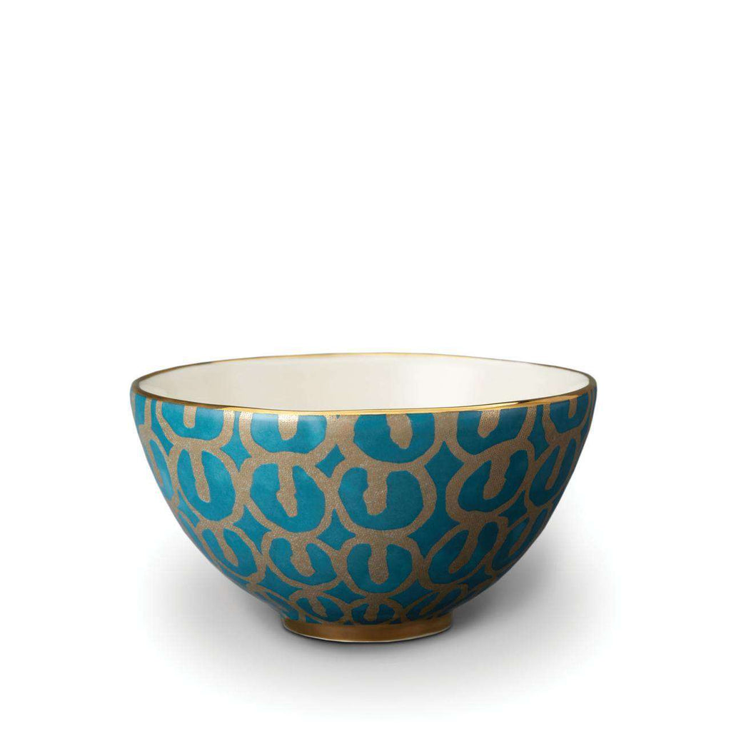 Fortuny Ashanti Cereal Bowls - Teal - TERTIUS COLLECTION