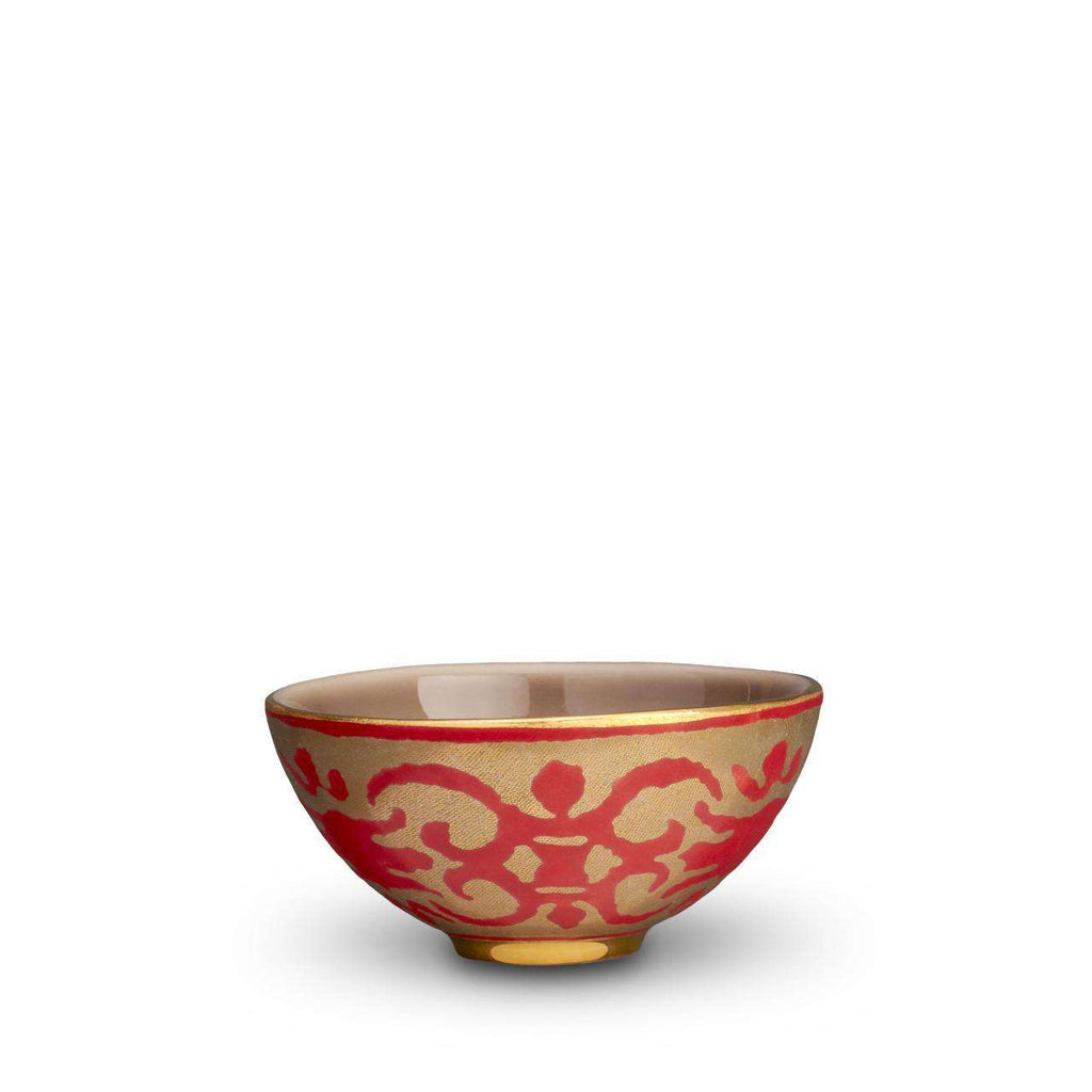 Fortuny Farnese Bowl - Small - Red - TERTIUS COLLECTION