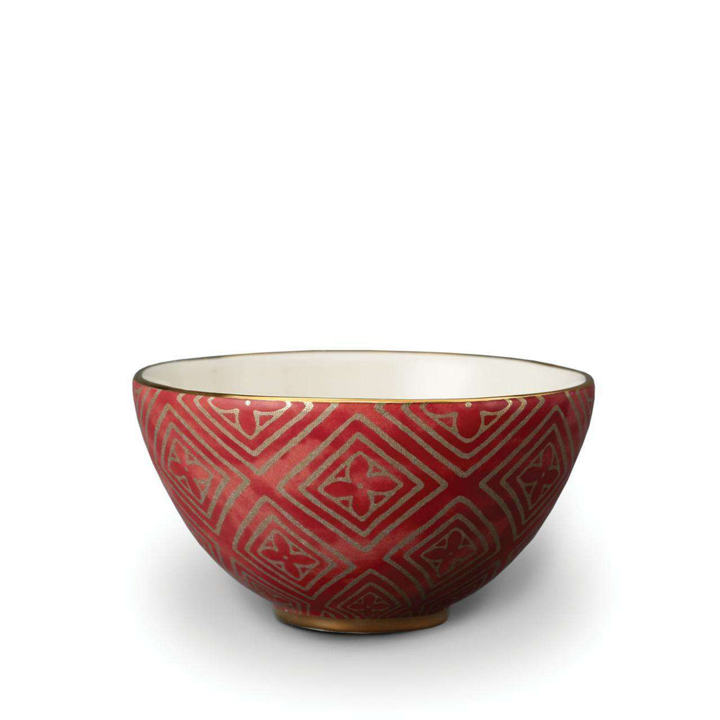 Fortuny Jupon Cereal Bowls - Red - TERTIUS COLLECTION