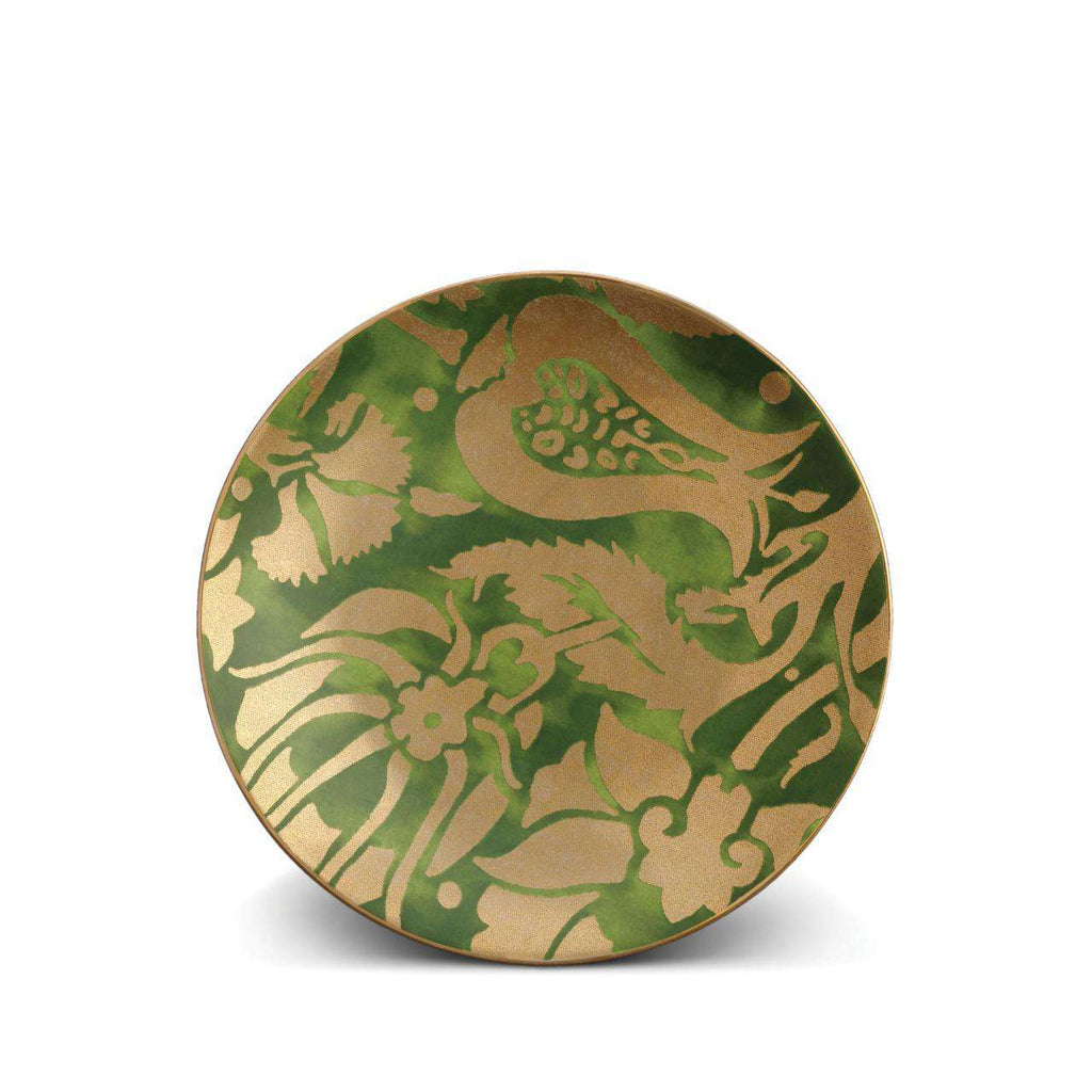 Fortuny Melagrana Dessert Plates - Green - TERTIUS COLLECTION