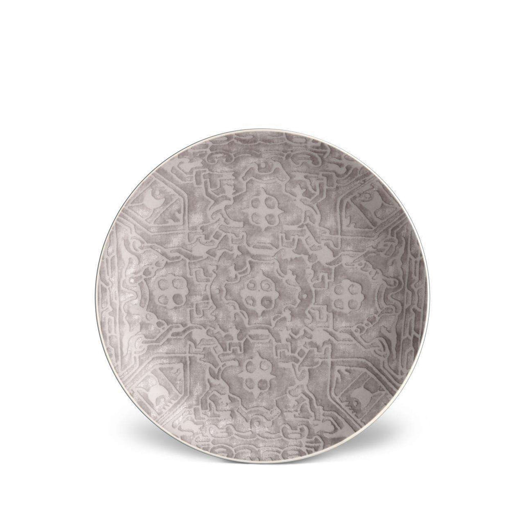 Fortuny Moresco Dessert Plates - Platinum - TERTIUS COLLECTION