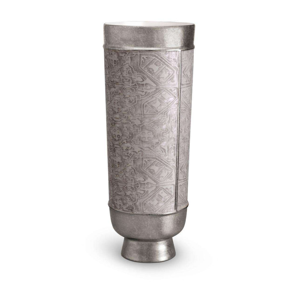 Fortuny Moresco Vase - X-Large - Platinum - TERTIUS COLLECTION