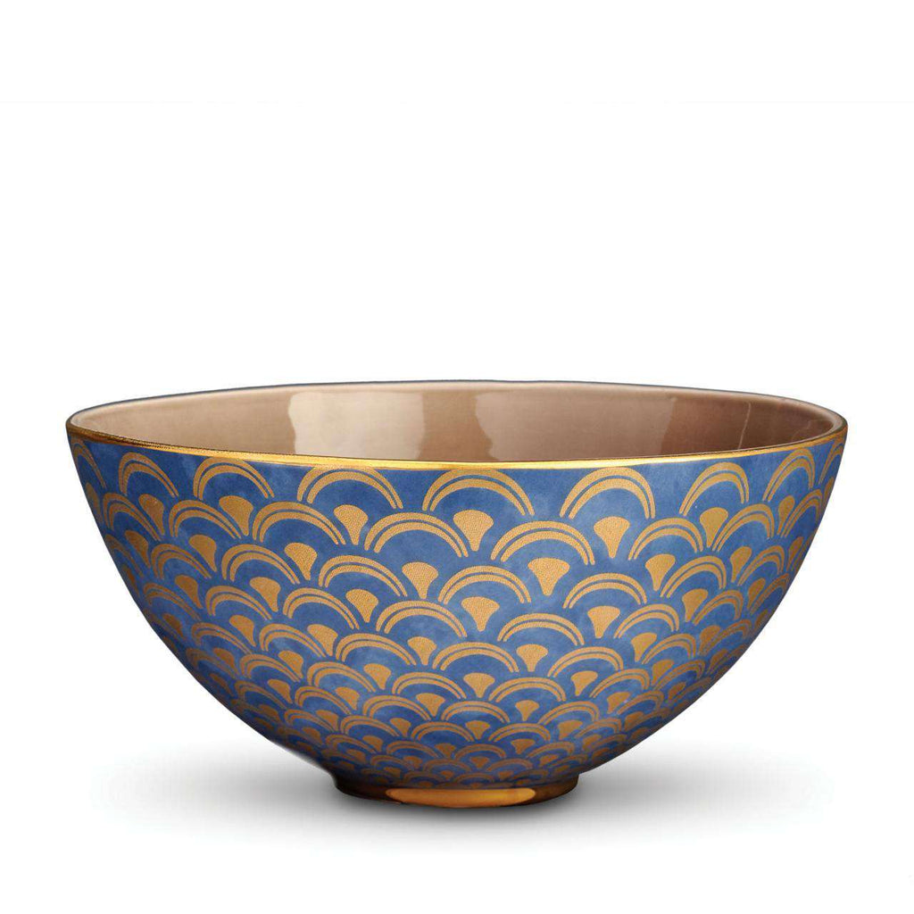 Fortuny Papiro Serving Bowl - Large - Blue - TERTIUS COLLECTION