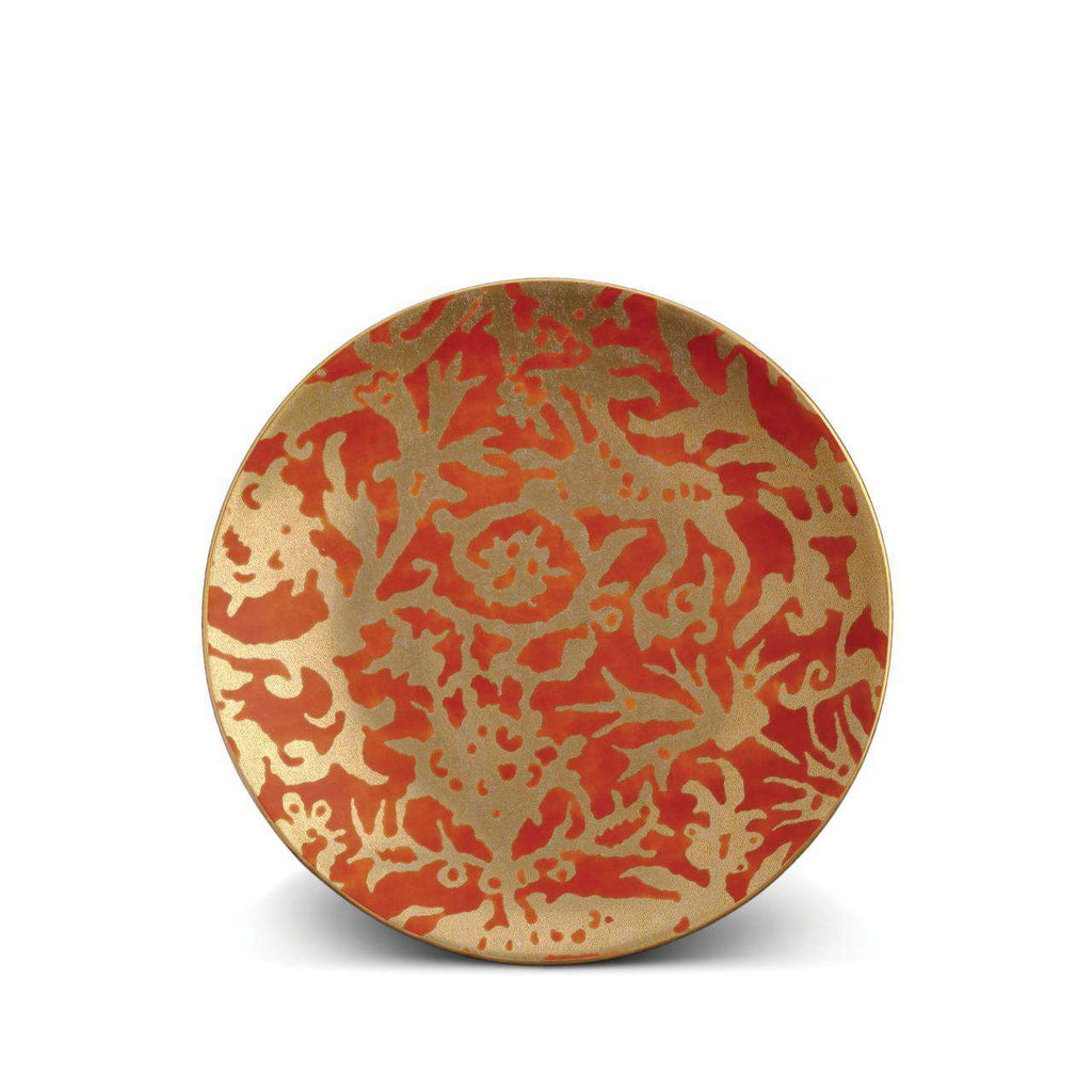 Fortuny Pergolesi Dessert Plates - Orange - TERTIUS COLLECTION