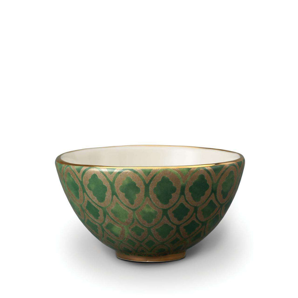 Fortuny Peruviano Cereal Bowls - Green - TERTIUS COLLECTION