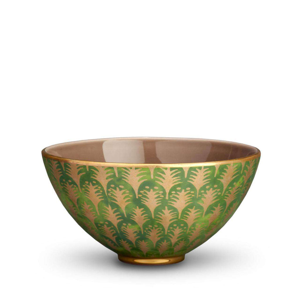 Fortuny Piumette Bowl - Medium - Green - TERTIUS COLLECTION