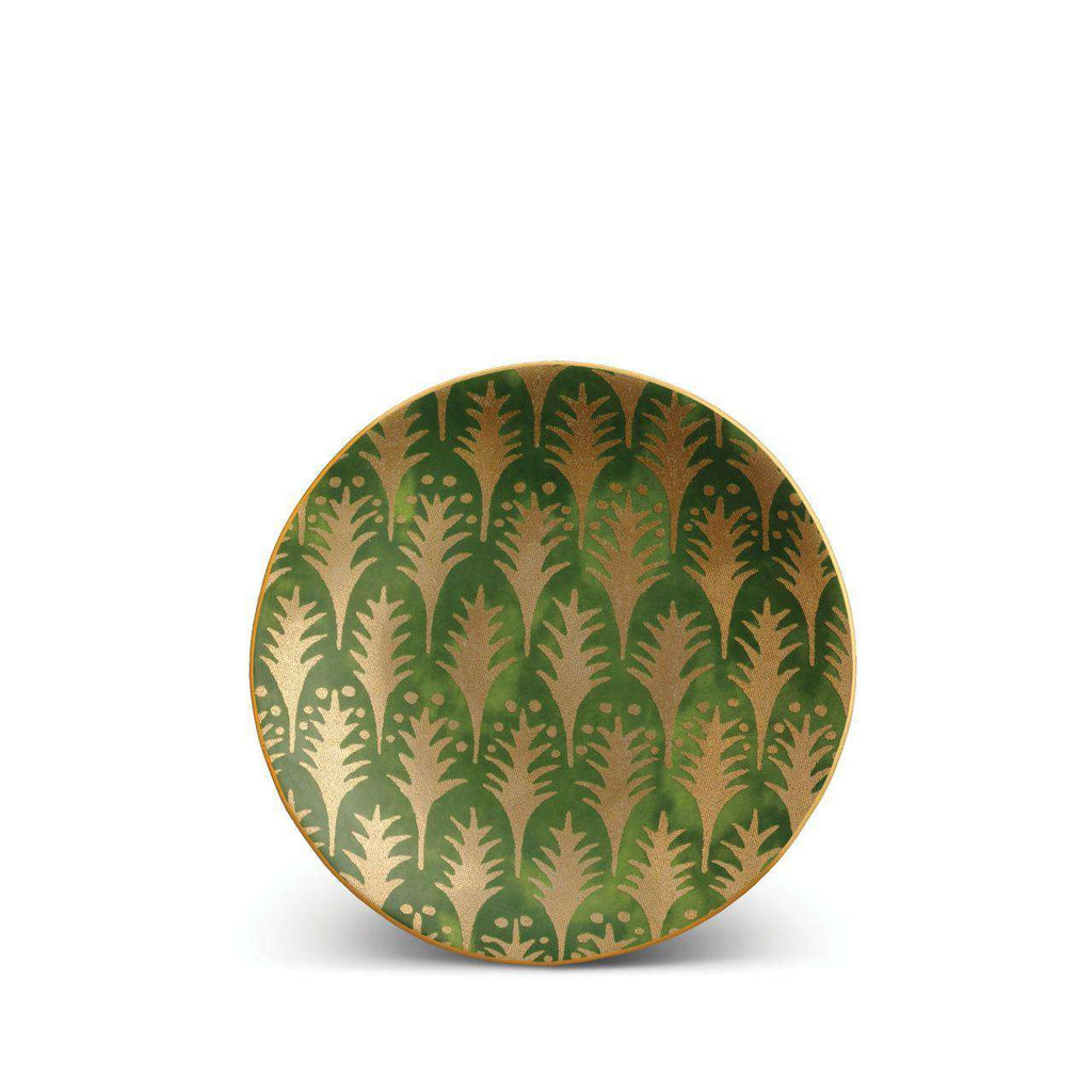 Fortuny Piumette Canape Plates - Green - TERTIUS COLLECTION