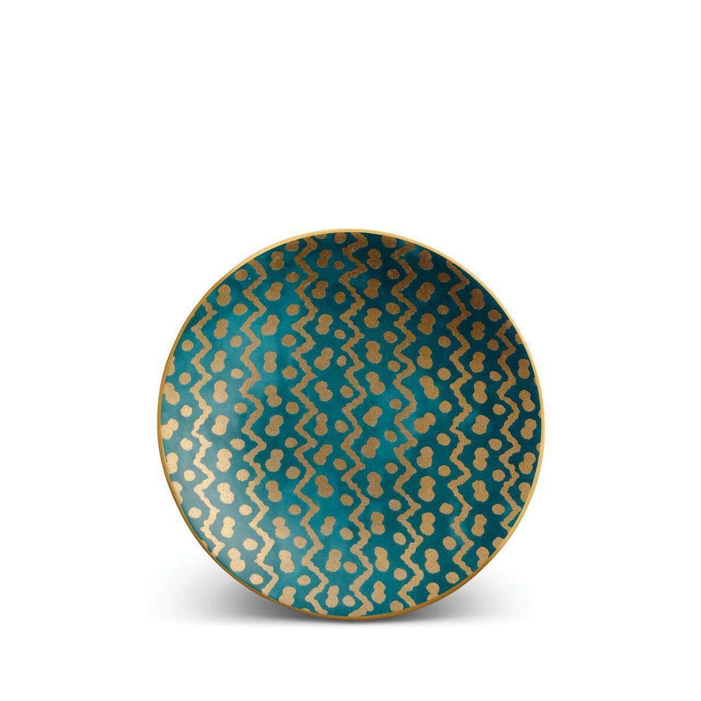 Fortuny Tapa Canape Plates - Teal - TERTIUS COLLECTION