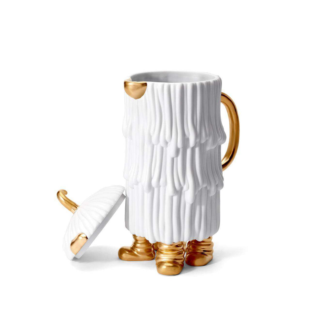 Haas Djuna Coffee & Tea Pot - White - TERTIUS COLLECTION