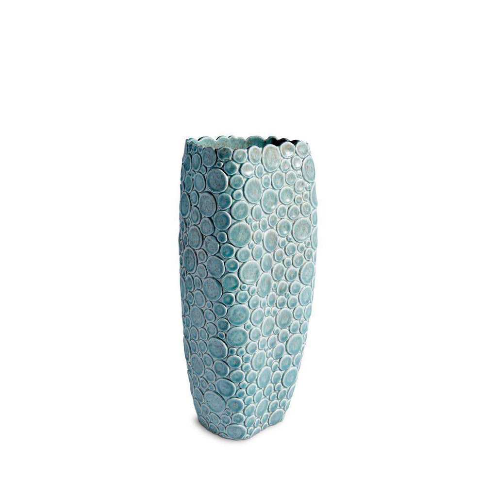 Haas Gila Monster Vase - Blue - TERTIUS COLLECTION