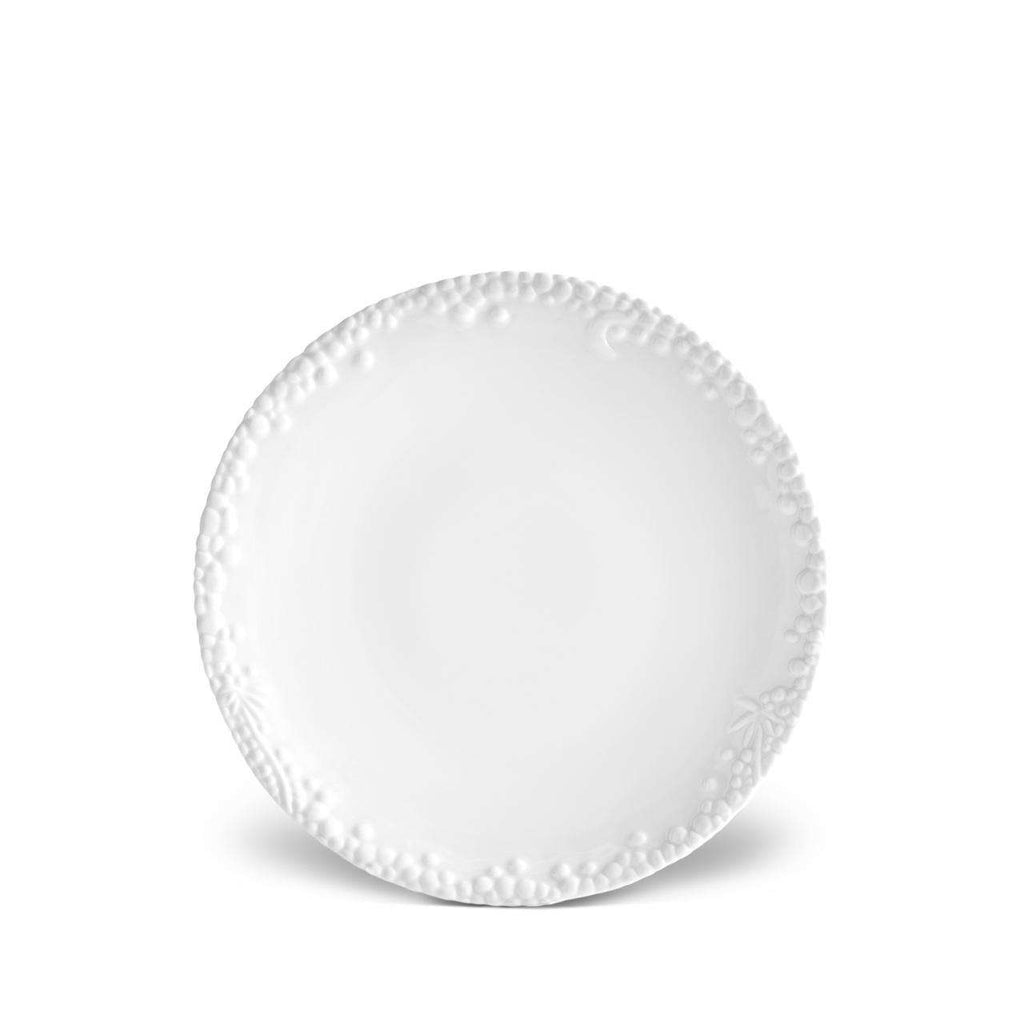 Haas Mojave Dessert Plate - White - TERTIUS COLLECTION