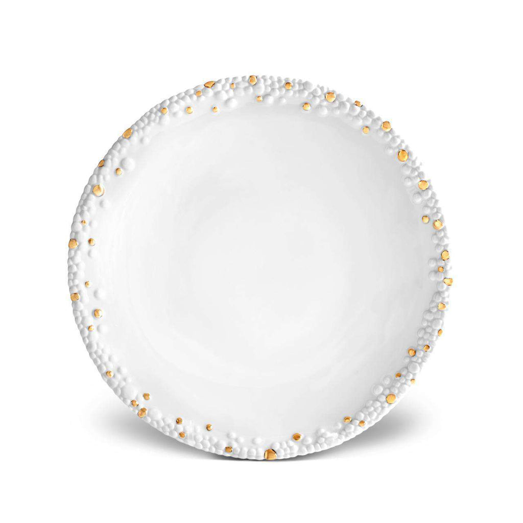 Haas Mojave Dinner Plate - Gold - TERTIUS COLLECTION