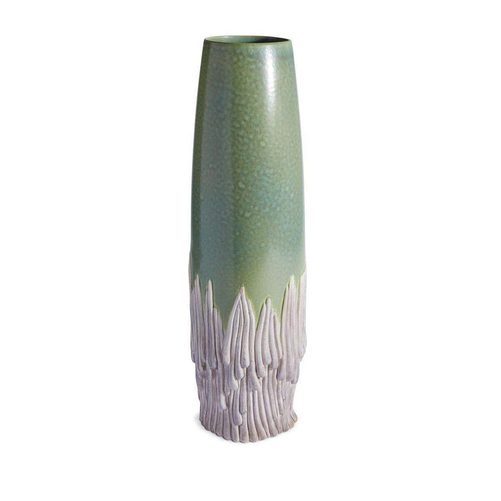 Haas Mojave Vase - Green & Grey - TERTIUS COLLECTION