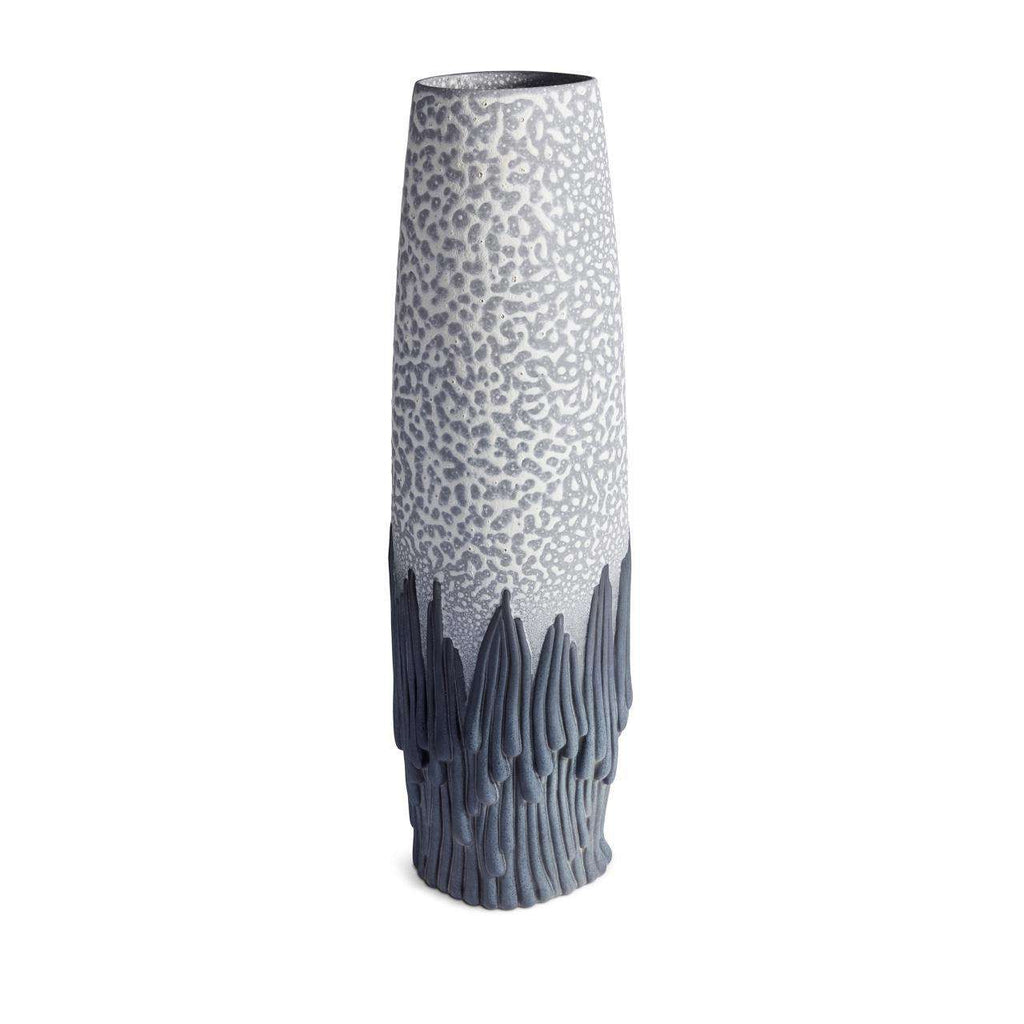 Haas Mojave Vase - Grey & Charcoal - TERTIUS COLLECTION
