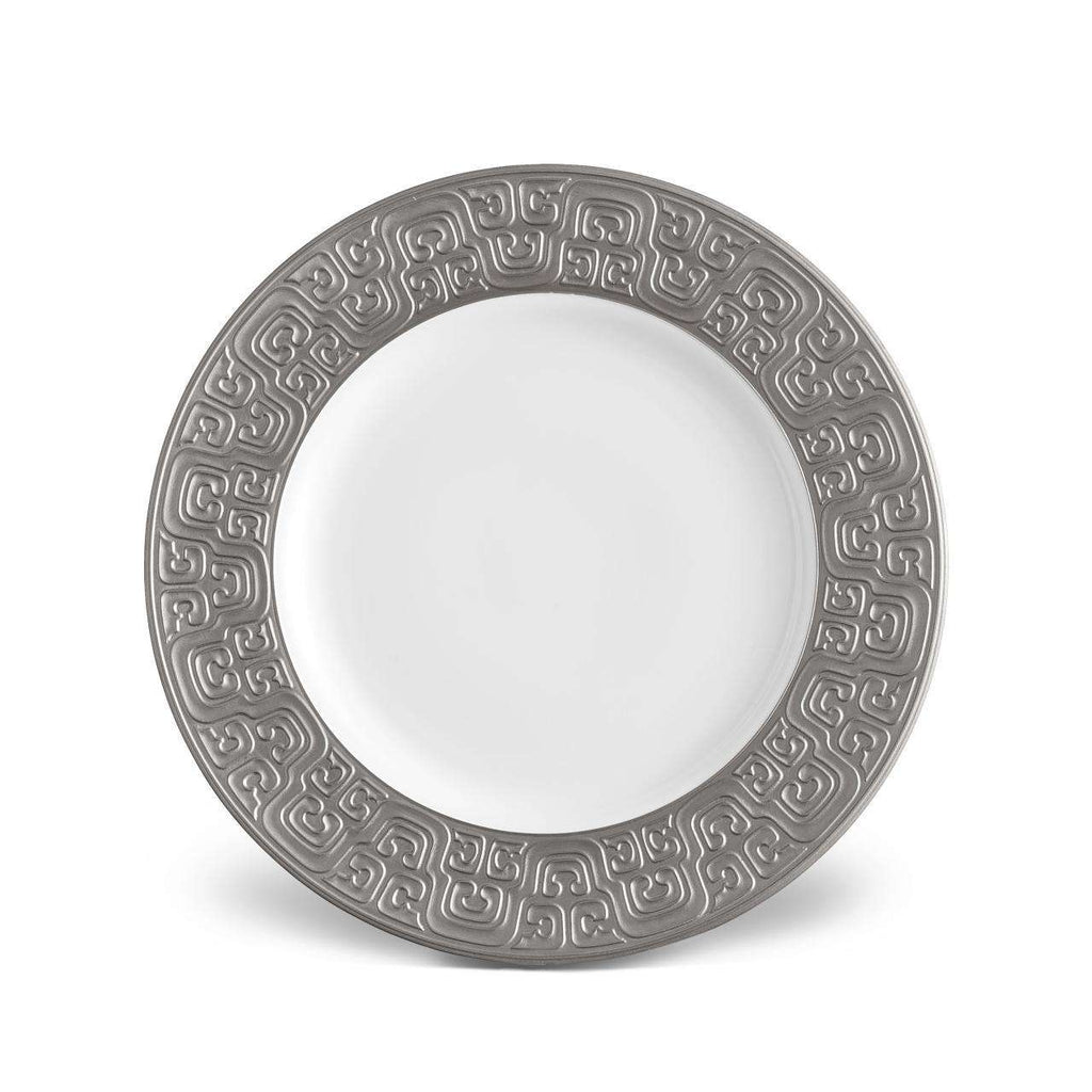 Han Dinner Plate - Platinum - TERTIUS COLLECTION