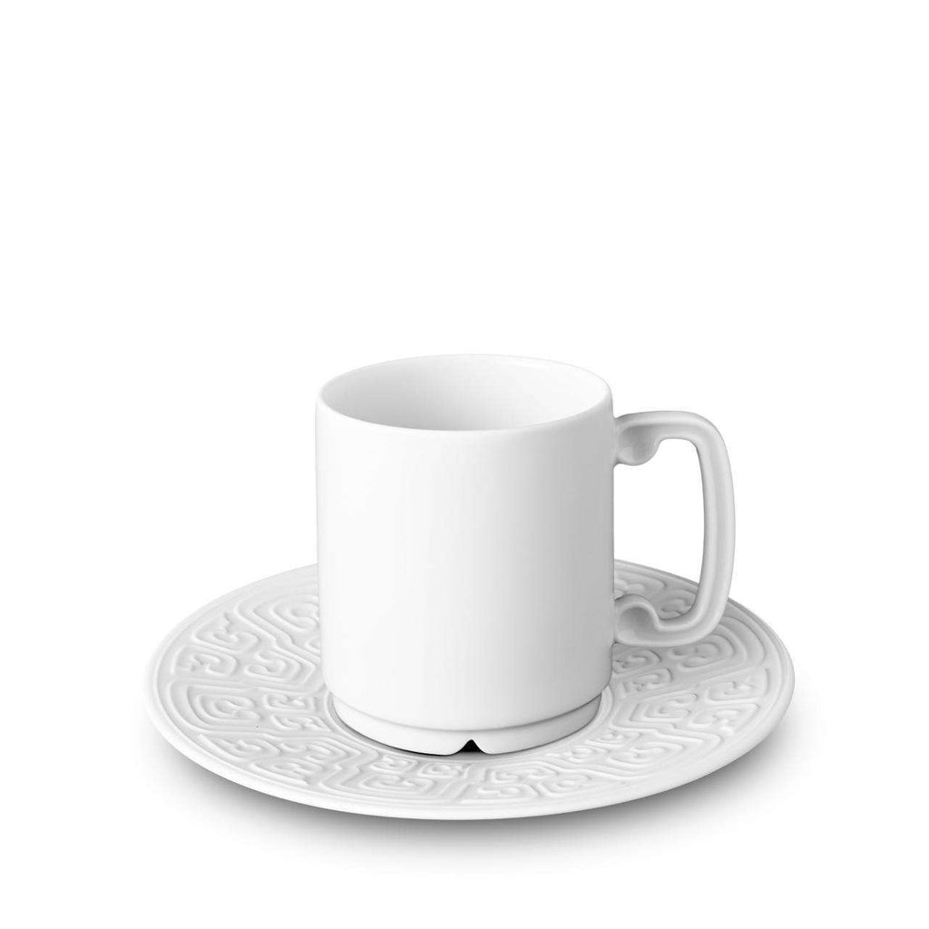 Han Espresso Cup & Saucer - White - TERTIUS COLLECTION