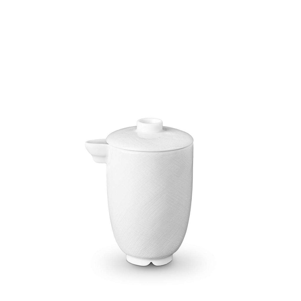 Han Olive Oil & Soy Pot - White - TERTIUS COLLECTION