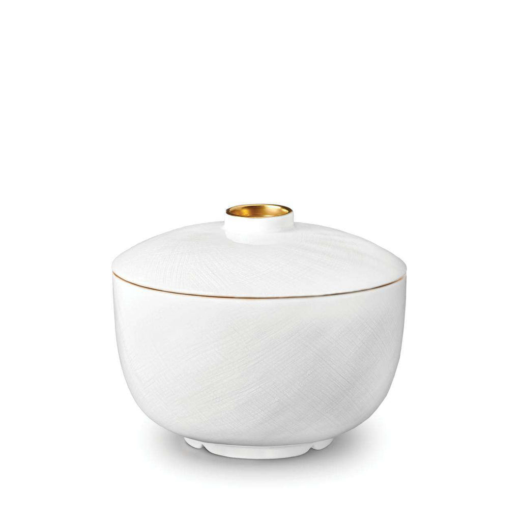 Han Rice Bowl with Lid - Gold - TERTIUS COLLECTION