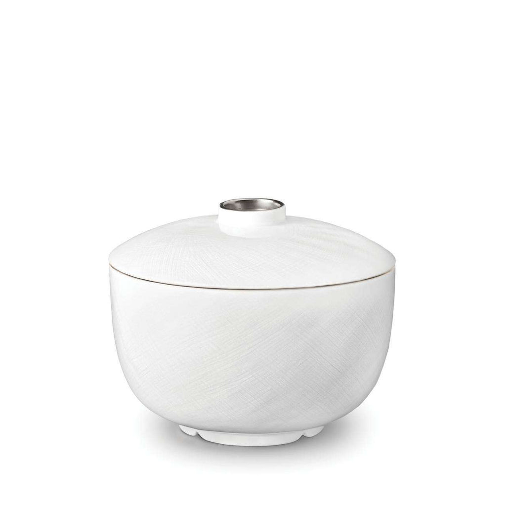 Han Rice Bowl with Lid - Platinum - TERTIUS COLLECTION
