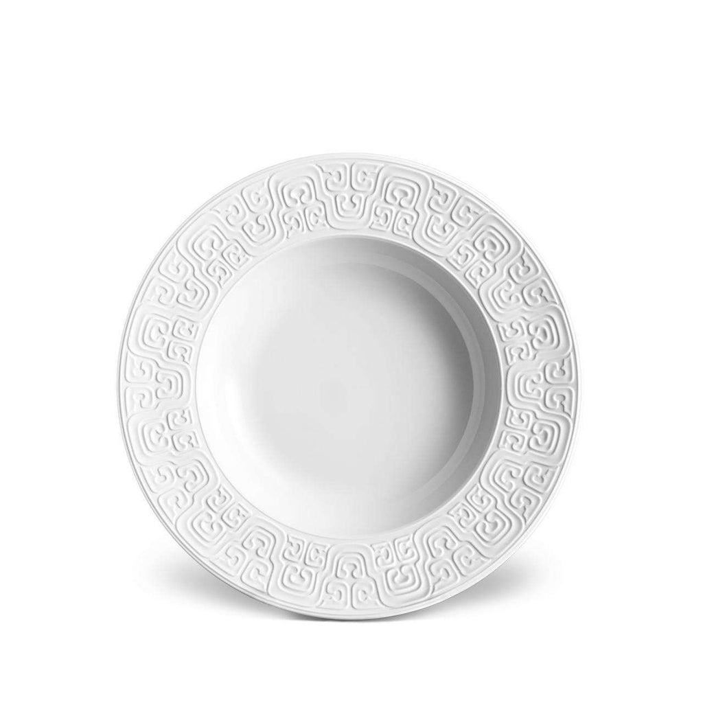 Han Soup Plate - White - TERTIUS COLLECTION