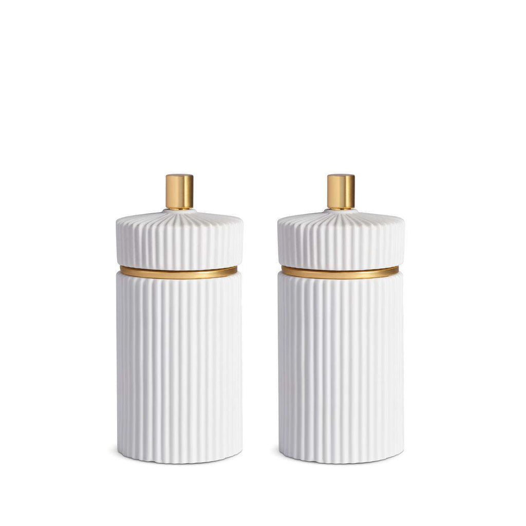 Ionic Salt & Pepper Mills - Small - White - TERTIUS COLLECTION