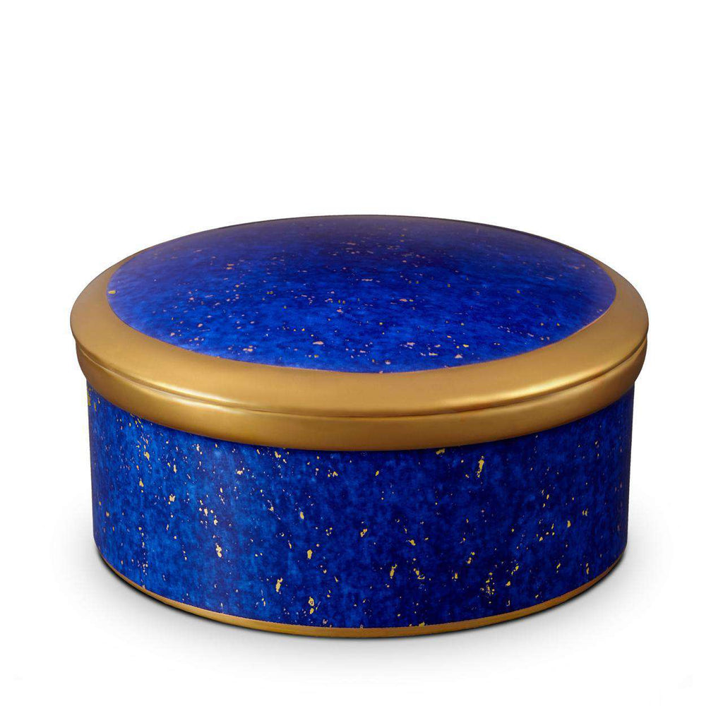 Lapis Round Box - TERTIUS COLLECTION