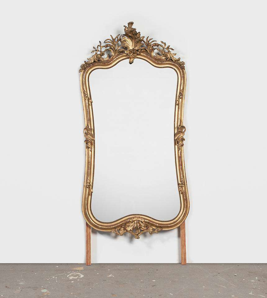 Large Rococo Mirror - TERTIUS COLLECTION