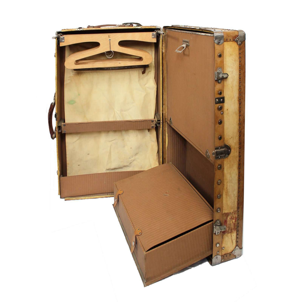Large Vellum Suitcase - TERTIUS COLLECTION