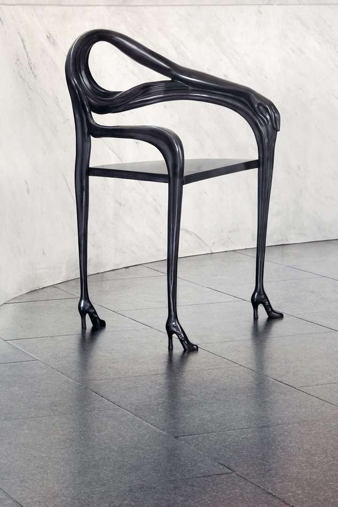 Leda Armchair - Sculpture | Black Label - Limited Edition - Dali inspired Barcelona Design Functional Furniture