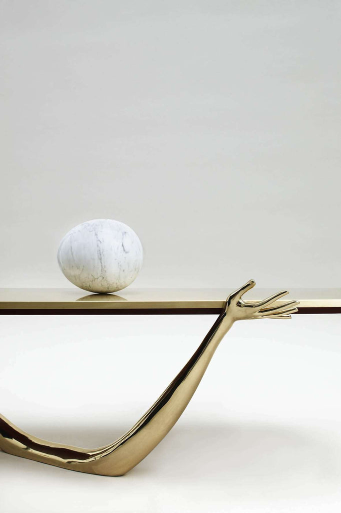 Leda low Table - Sculpture - TERTIUS COLLECTION