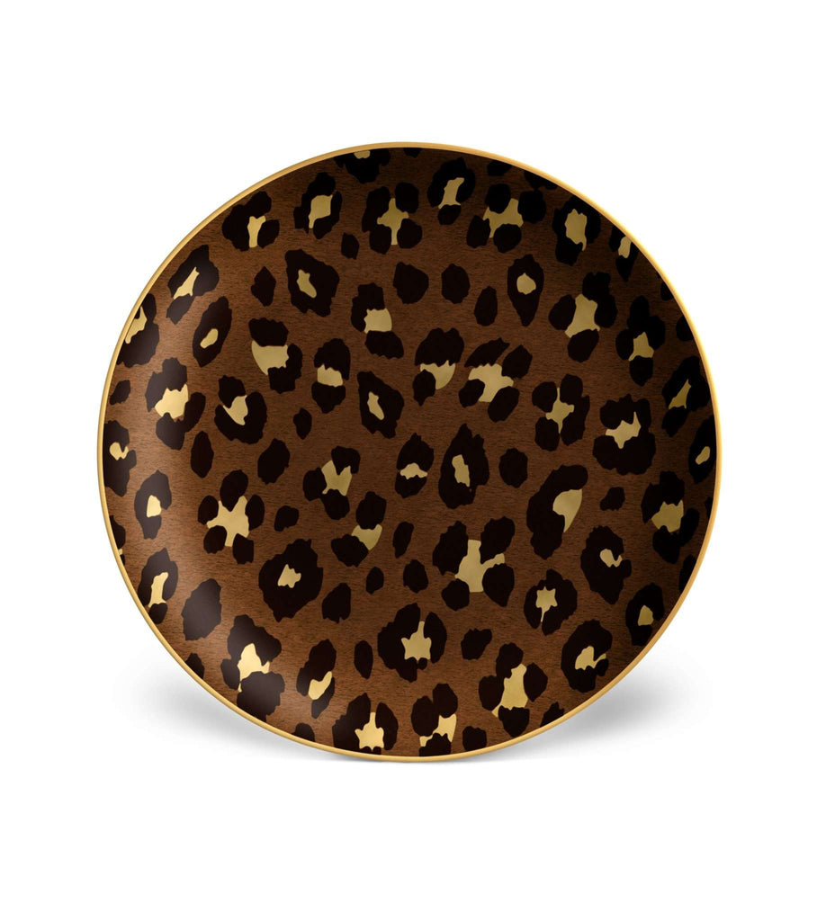Leopard Dessert Plates (Set of 4) - TERTIUS COLLECTION