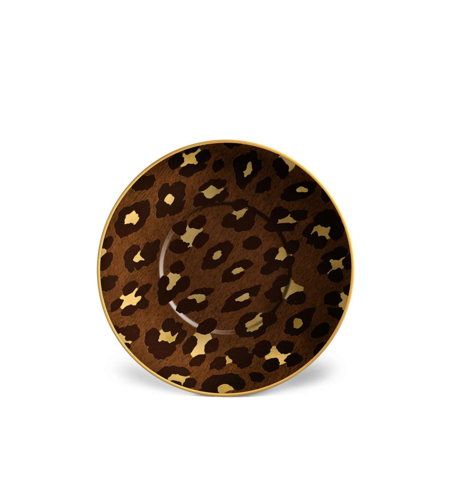 Leopard Saucer - TERTIUS COLLECTION