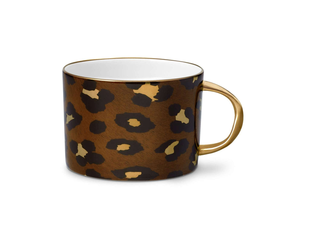 Leopard Tea Cup - TERTIUS COLLECTION