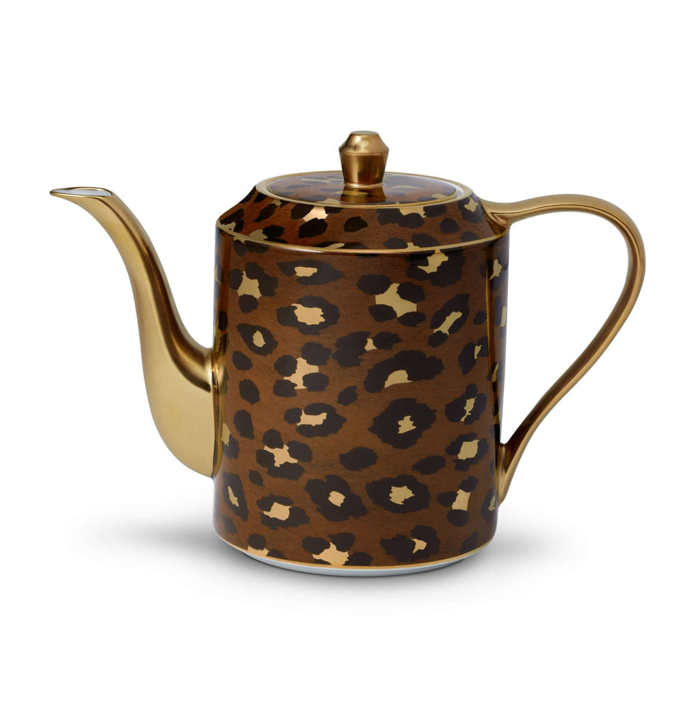 Leopard Teapot - TERTIUS COLLECTION