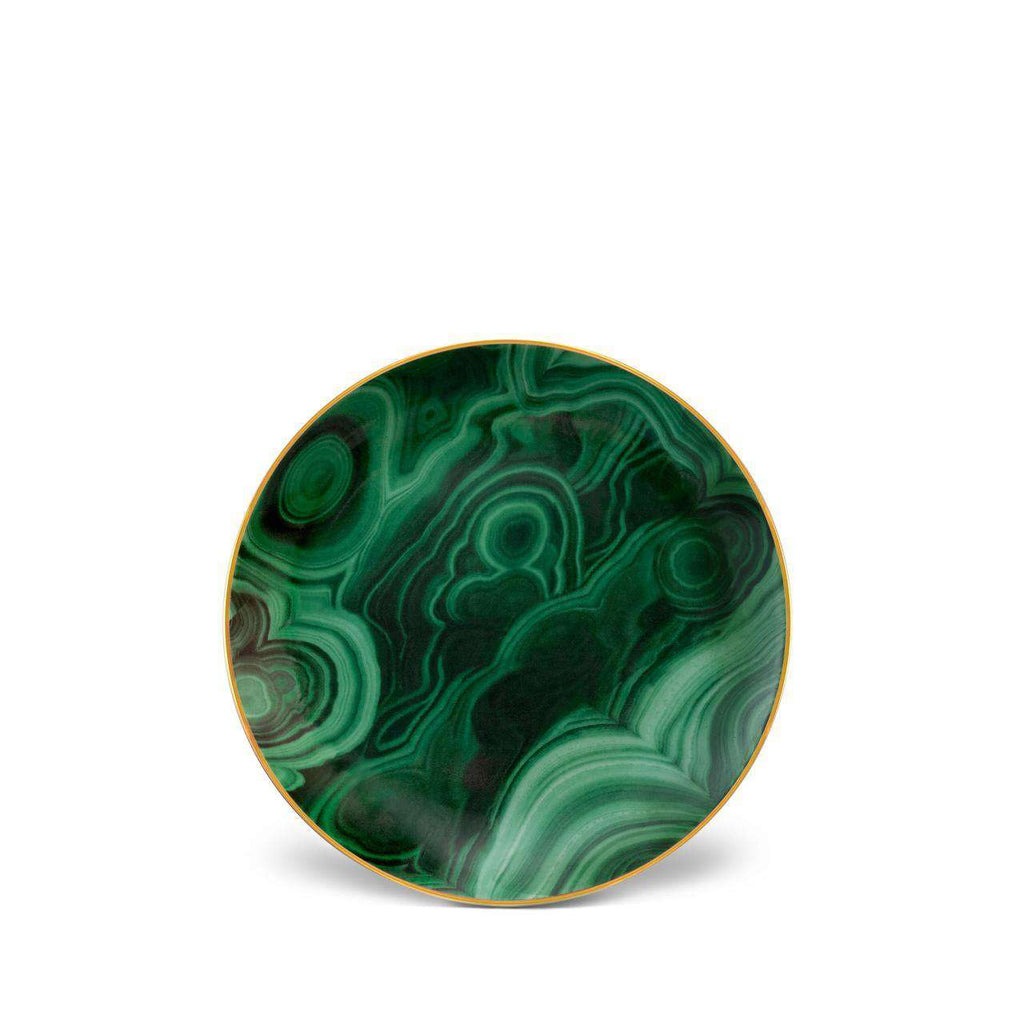 Malachite Canape Plates - Green - TERTIUS COLLECTION