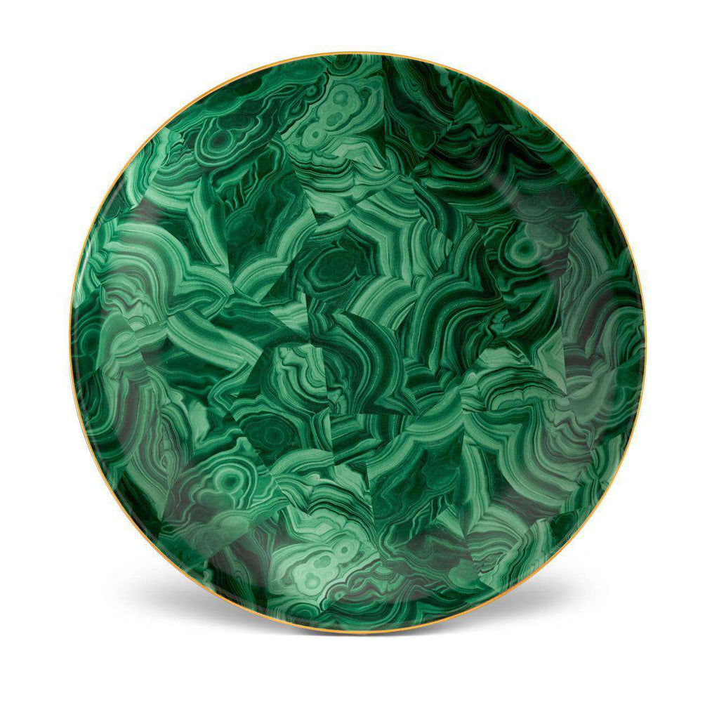 Malachite Round Platter - Green - TERTIUS COLLECTION